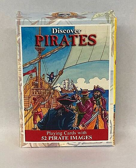 Discover Pirates- Playing Cards