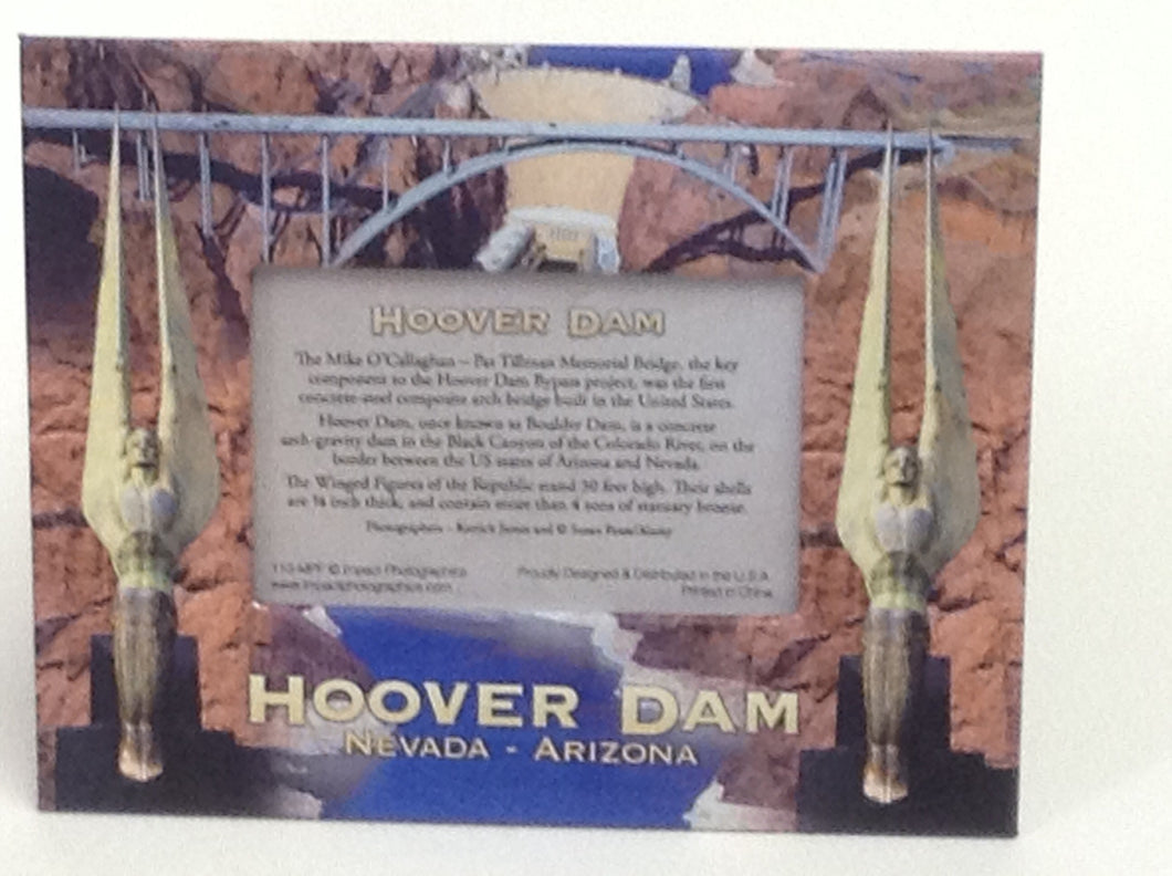 Hoover dam magnet photo frame
