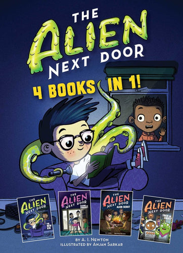 The Alien Next Door - 4 books in 1