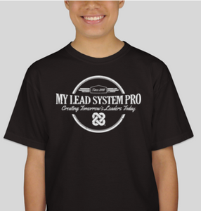 My Lead System PRO Since 2008 Black Tee (Youth)