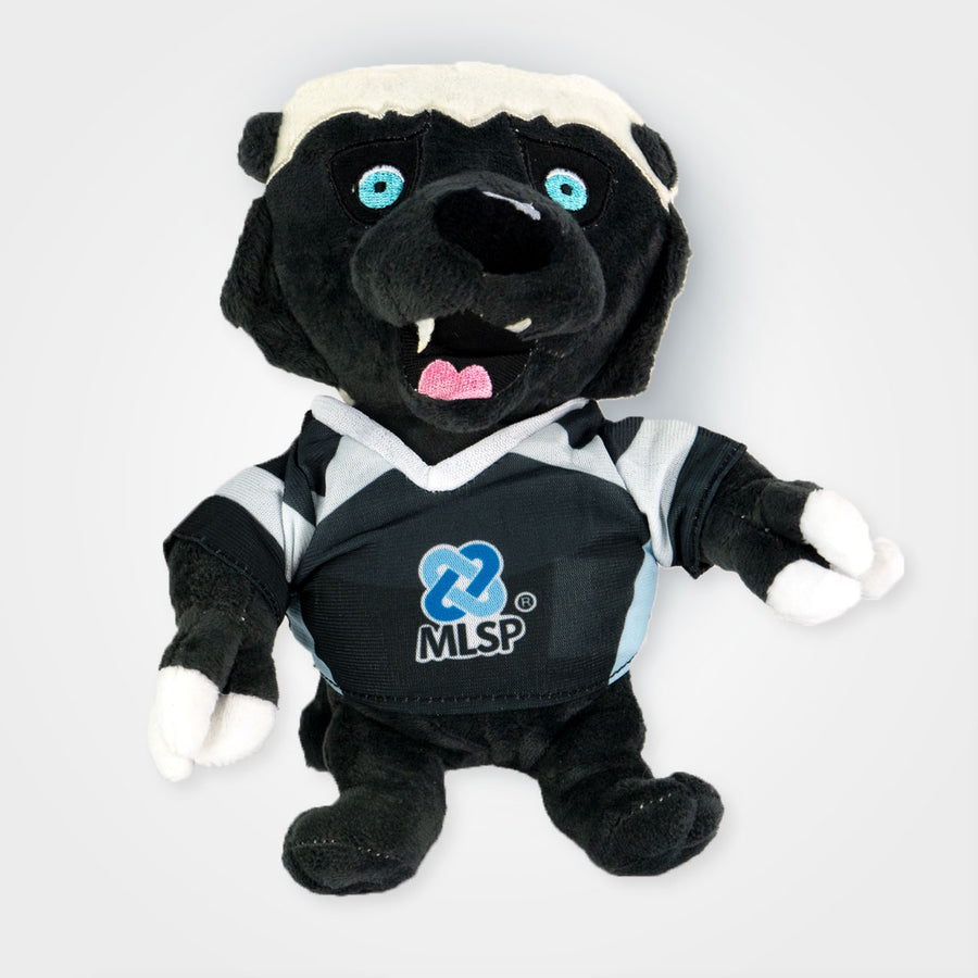 Baxter the MLSP Honeybadger Plush Doll