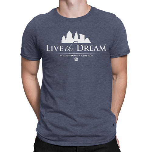 Live the Dream Austin Skyline Tee