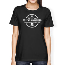MLSP Vintage Logo womens T-Shirt Black