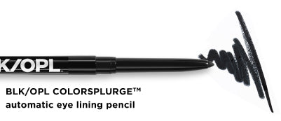 BLK/OPL Colorsplurge™ automatic eye lining pencil