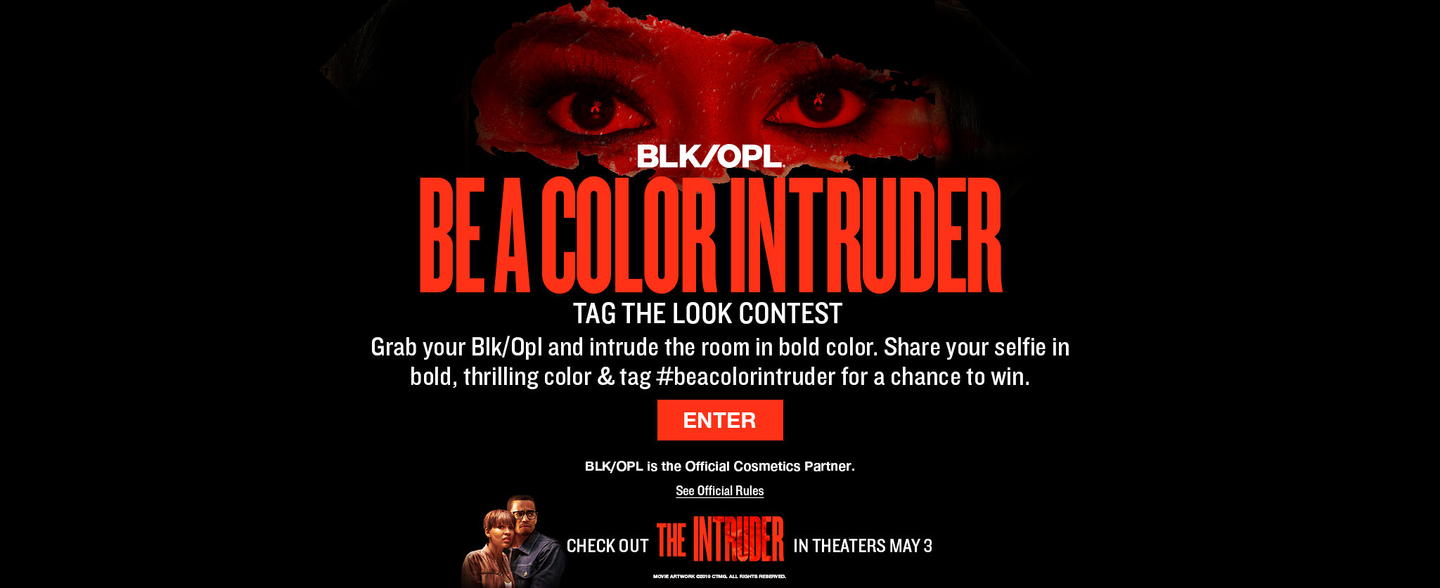Be a Color Intruder Tag the Look Contest - Click Here to Enter