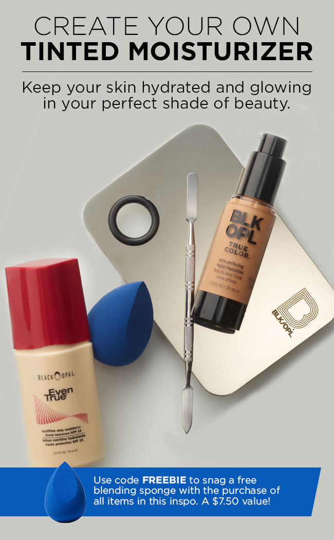 Create Your Own Tinted Moisturizer