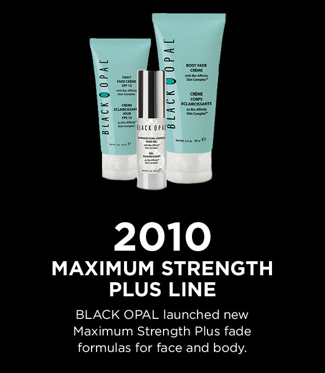 2010 - Maximum Strength Plus line