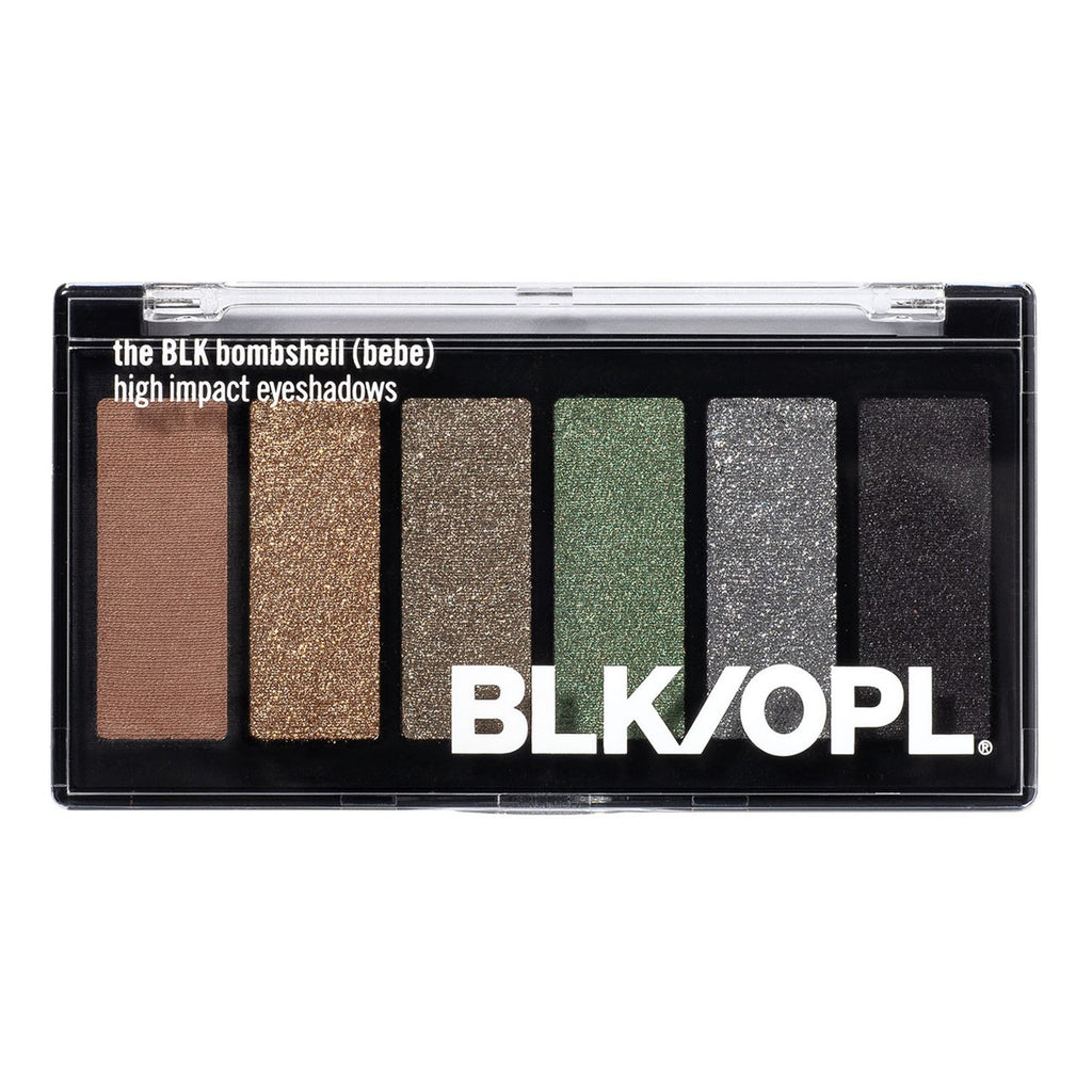 The BLK Bombshell - 6 Well Eyeshadow Palette