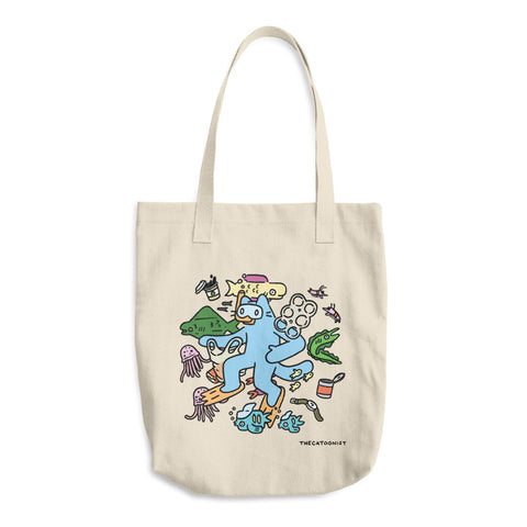 Plastic World Tote Bag