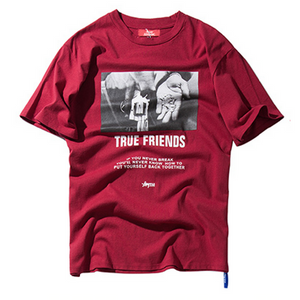 True Friends tshirt - NYA Dad Hats