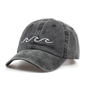 Ocean Wave dad hat - NYA Dad Hats