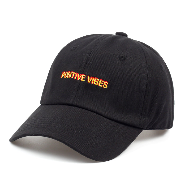 Positive Vibes dad hat - NYA Dad Hats