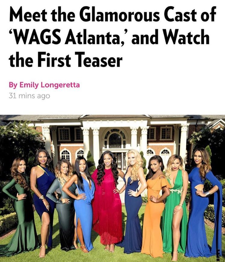 WAGS Atlanta Cast and Trailer Revealed!!
