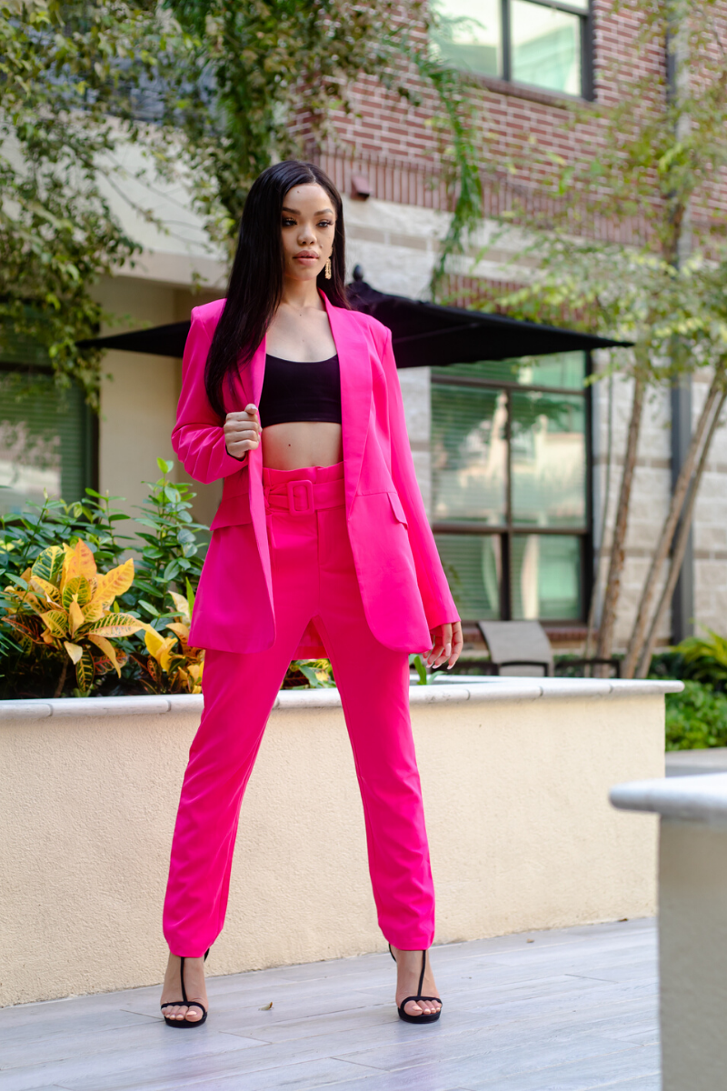Pink Power Suit - So Kate Boutique