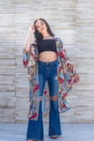 "The Monaco Kimono ""Miami"" - So Kate Boutique"