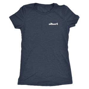 """Breathe"" – Women's Triblend Tee"