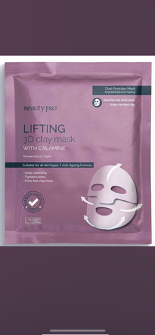 Lifting 3D Clay Mask