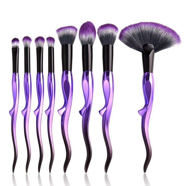 Glowi magical witch brush set