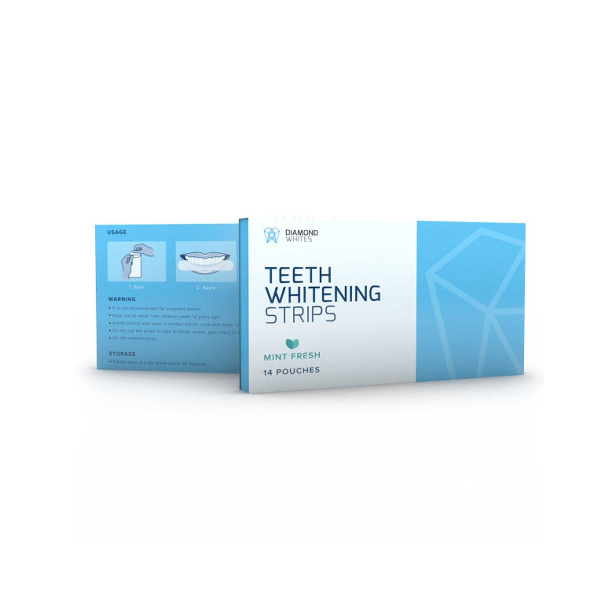 Diamond Whites Teeth Whitening Strips