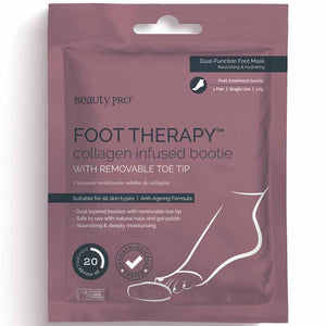 Beauty Pro Foot Therapy Collagen Infused Bootie (1 pair)