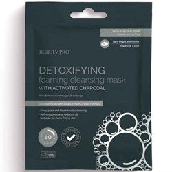 Beauty Pro Detoxifying Cleansing & Foaming Mask 18ml