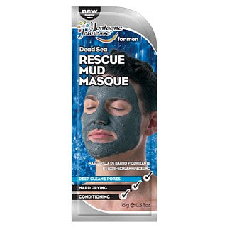 Montagne Jeunesse 7th Heaven Mens Dead Sea Rescue Mud Masque 15g
