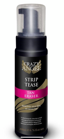 Crazy Angel Tan Eraser STRIP TEASE