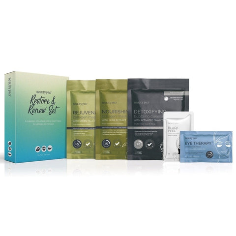 Beauty pro restore and renew set