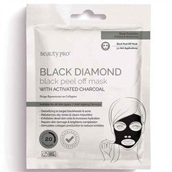 Beauty Pro Black Diamond Peel-off Face Mask - Single