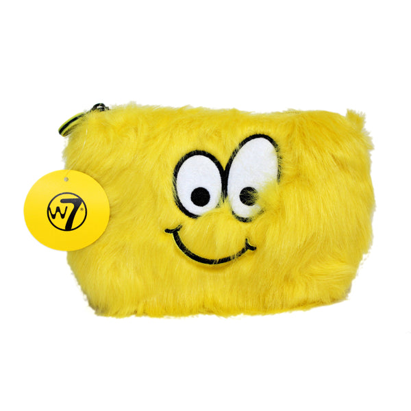 Emoji Furry Cosmetic Bag