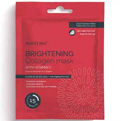 Beauty Pro Collagen Brightening Collagen Sheet Mask 23g
