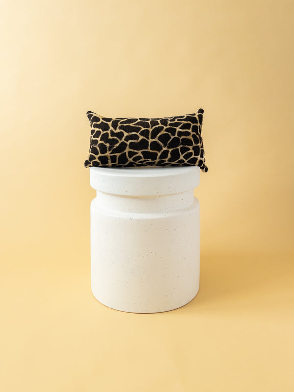 Animal Print Mudcloth Small Lumbar Pillow 101