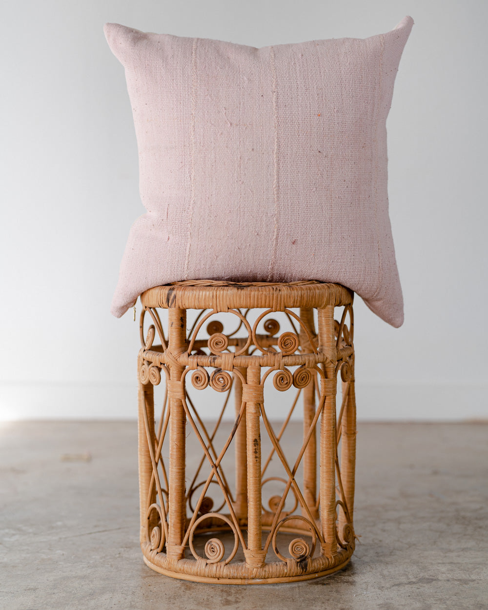 Pink Mudcloth Pillow 003