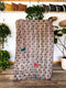 Rust Mudcloth Pillow 001