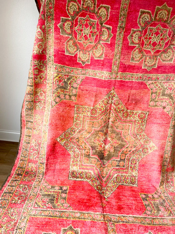 Moroccan Rug Pillow 039