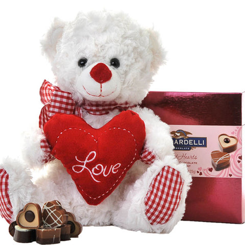 Chocolate Love Bear