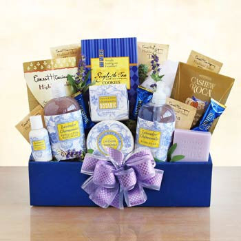 Bath and Body Lavender Gift Box