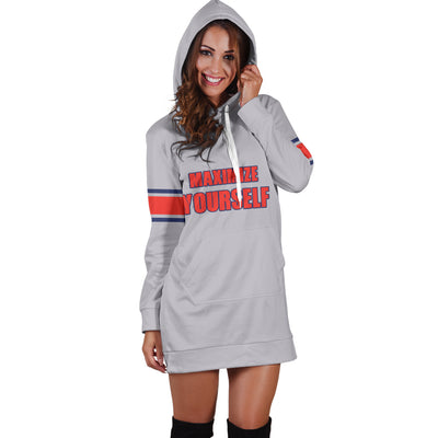 Maximize Yourself Hoodie Dress