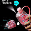 Gym Water Bottle+Cooling Spray