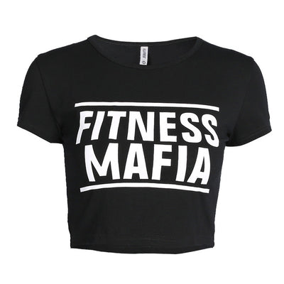 Fitness Mafia Crop Top