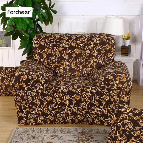 1PC Elastic Sofa Towel Furniture Protector Sofa Stretch Tightly Wrap All-inclusive Slip-resistant Corner Sofa Cover 1/2/3/4-Seat