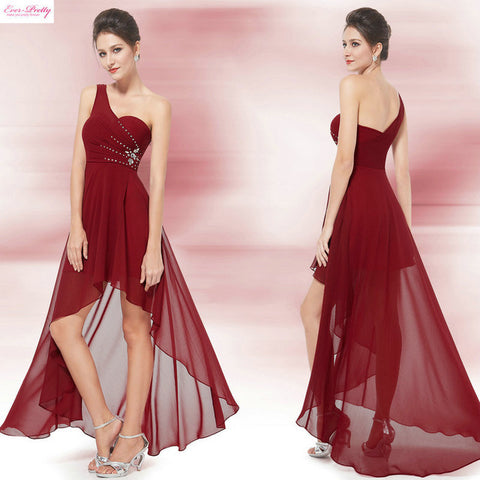 Evening Dresses Ever-Pretty, Sexy One Shoulder Chiffon Fashion Evening Dresses