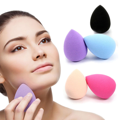 1 Pcs Women Makeup Sponge Blender Waterdrop Flawless Foundation Sponge Cosmetic Puff Smooth Powder Make Up Tools Wholesale