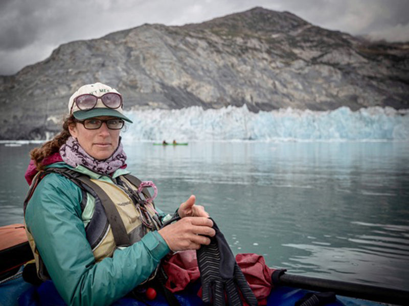Kayaking Around Ice To Discover Emotional Freedom