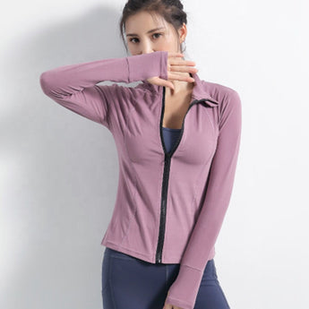 Yoga Sports Jacket + Outdoor Running