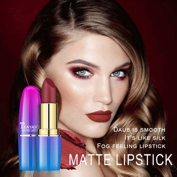 Gradient Color Waterproof Long Lasting Matte Lipstick - Ime2s