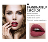 Langmanni 12pcs Matte Long Lasting Lipstick Waterproof Set
