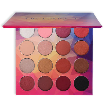8 Diamond Glitter Colors and 8 Matte Colors Eyeshadow Pallete - Ime2s
