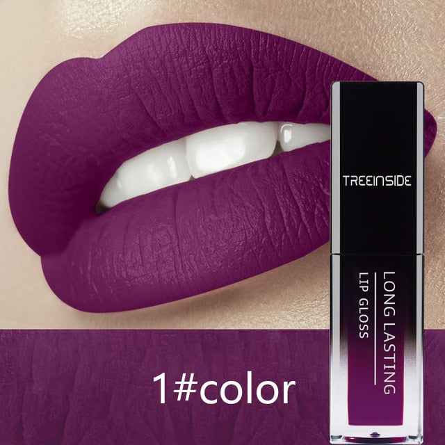 24 Colors Liquid Lipstick Waterproof Long Lasting Matte Lipstick - Ime2s