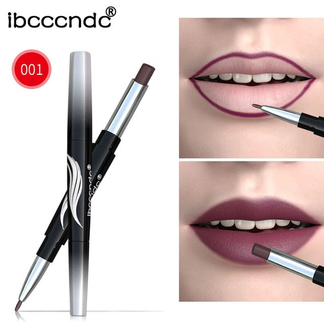 Double-end Matte lipstick Pen - Ime2s